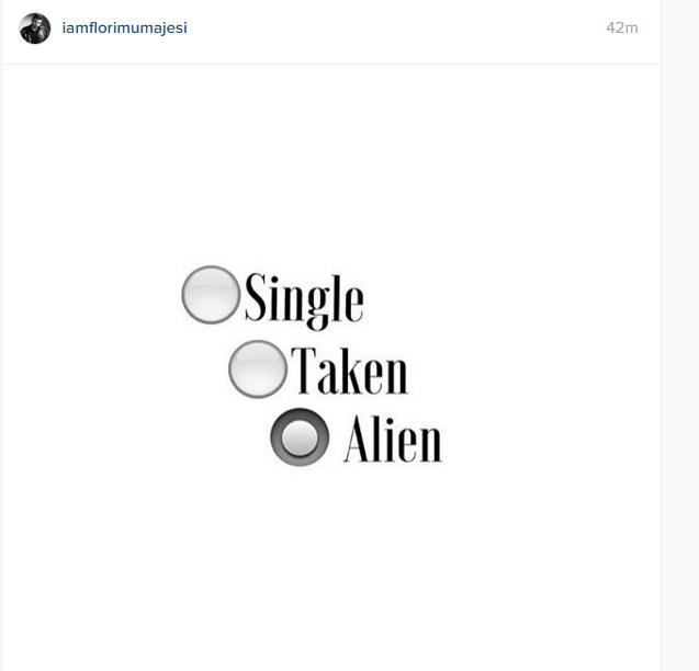 Postimi i Florit në Instagram: @Iamflorimumajesi