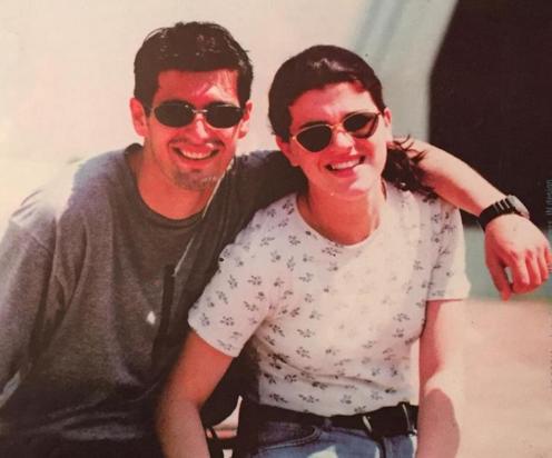 Edona Llalloshi dhe Donat Qosja 1996
