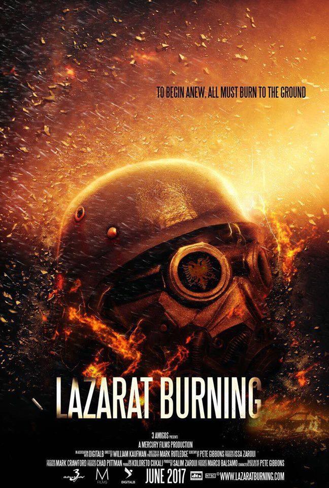 Posteri i filmit 'LAZARAT BURNING'